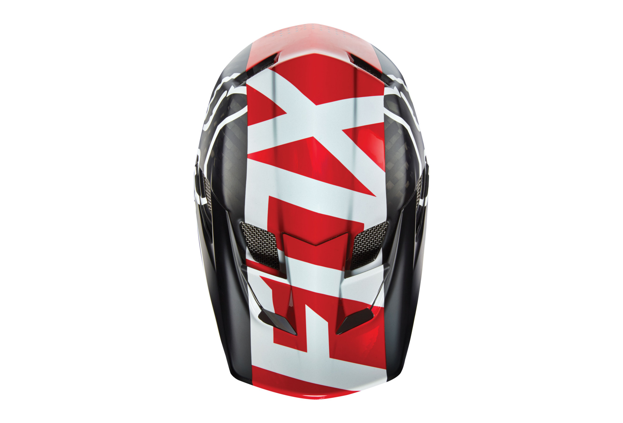 Red Libra Fox Full Face Helmet Rampage Pro Carbon Libra Mips Red