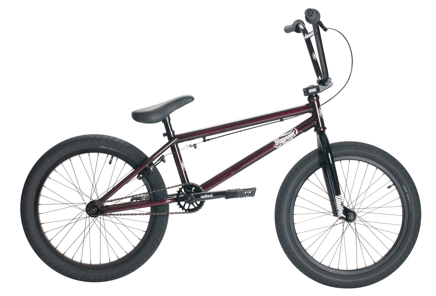 Taille Cadre Photo Standard Bmx Freestyle United Supreme 20.25'' 2017 Trans Red