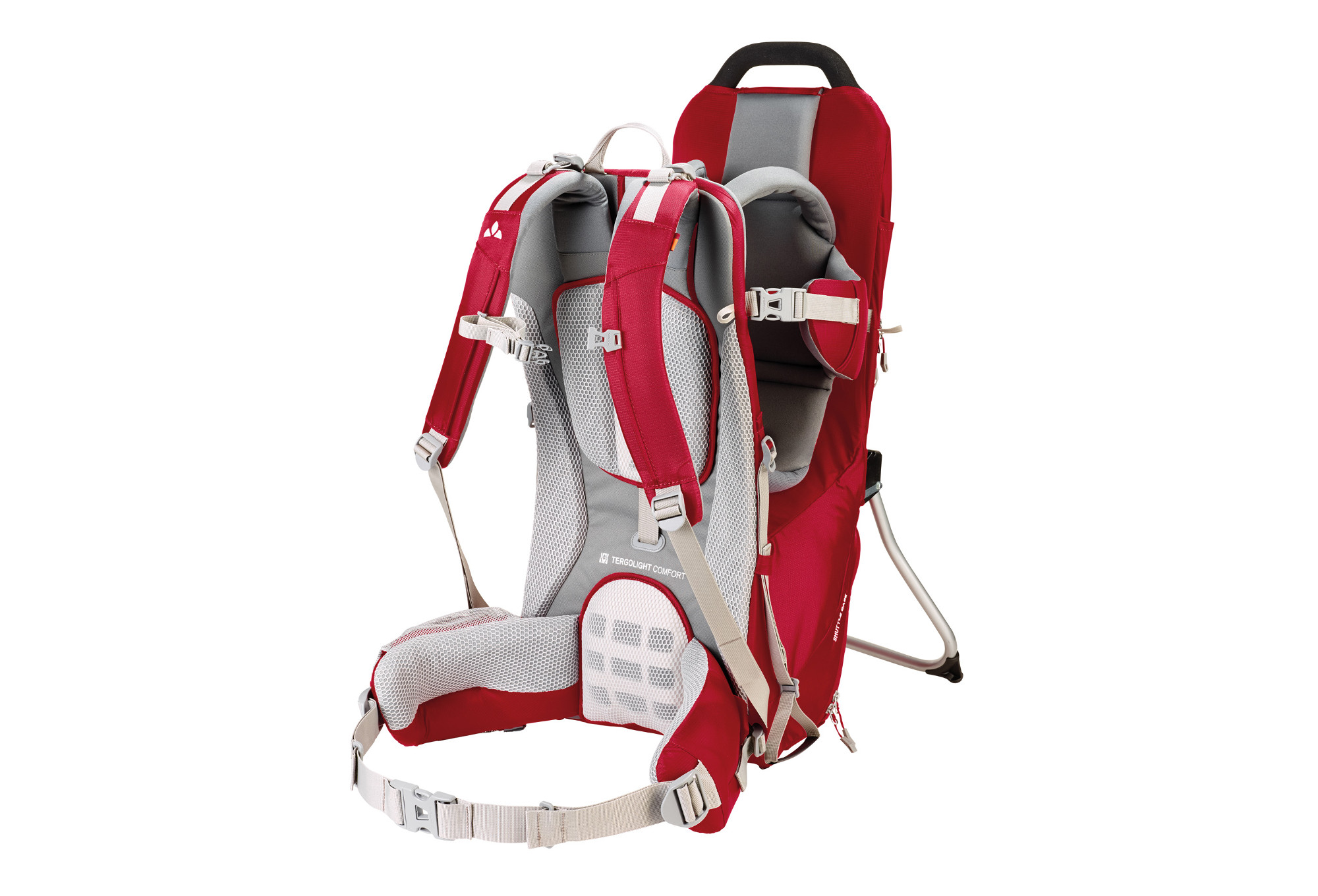 Vaude Infant Carrier Vaude Shuttle Base Baby Carrier Red Alltricks