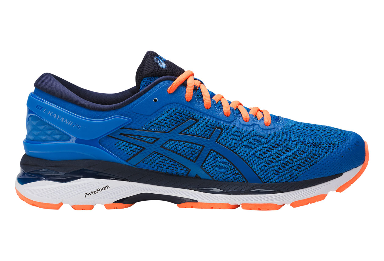 Blau 24 Asics Gel Kayano 24 Blau Orange Alltricks De