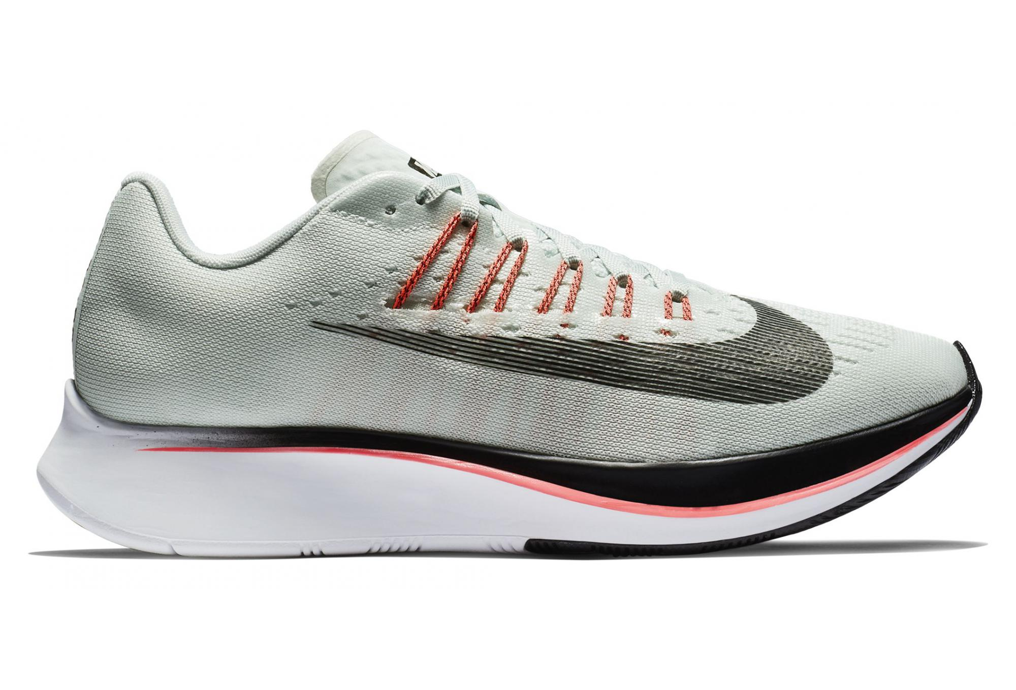 Nike Zoom Grey And Green Nike Shoes Zoom Fly Green Grey Pink Women