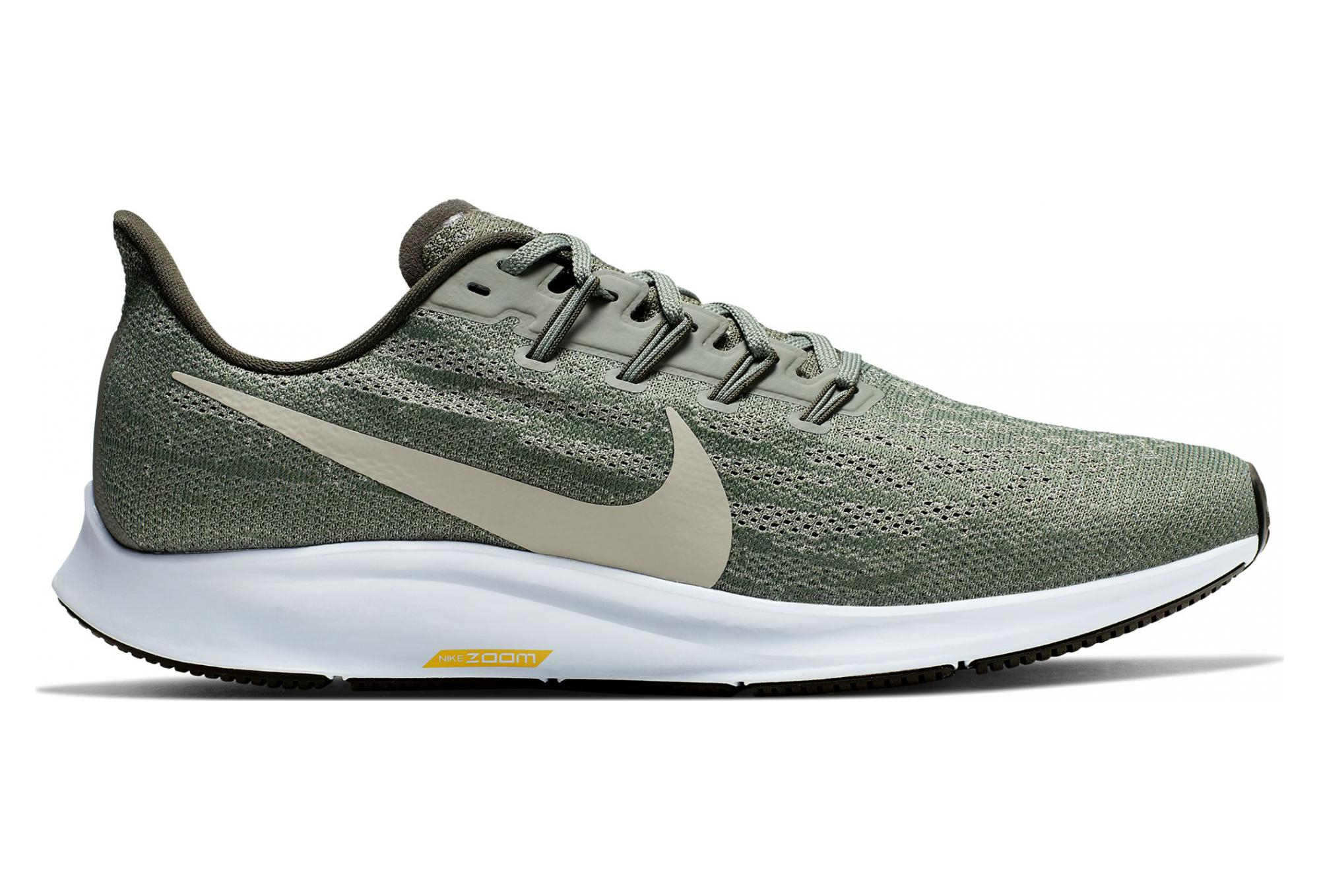 Nike Zoom Grey And Green Nike Air Zoom Pegasus 36 Green Men