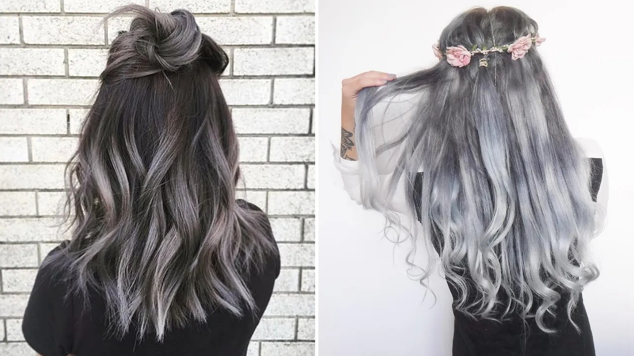 The Gray Hair Trend 32 Instagram Worthy Gray Ombré - Haarfarbe Ombre