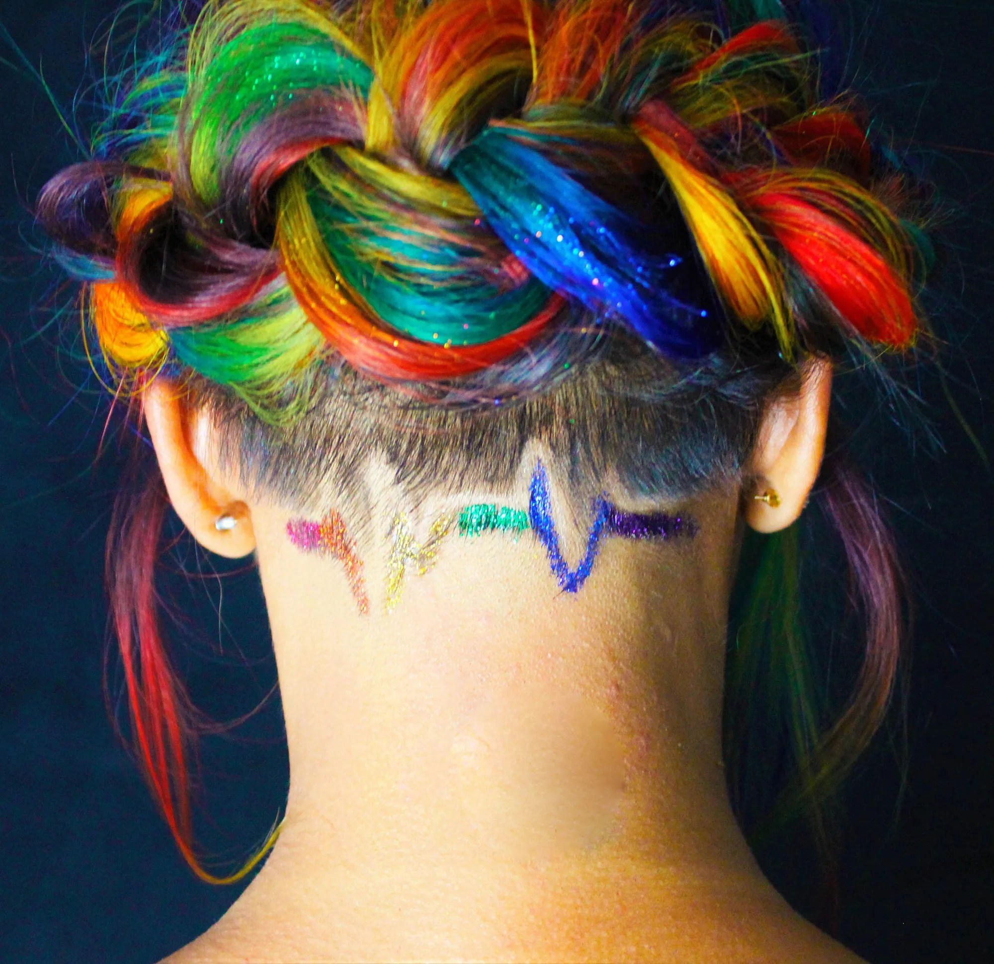 Coloured Hair Roots The Meaning Behind This Rainbow Hair Will Bring Tears To