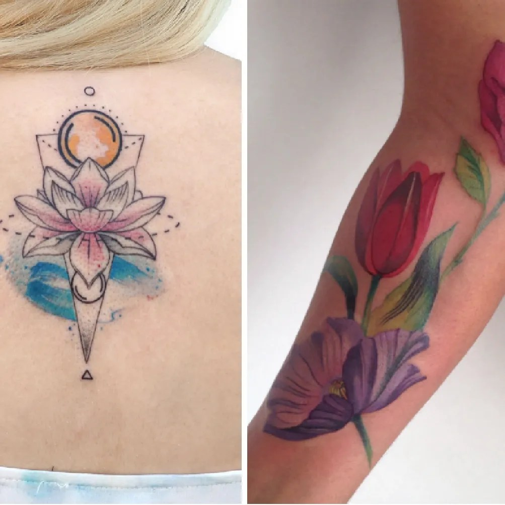 Tattoo Aquarell 23 Stunning Watercolor Tattoo Ideas Best Watercolor Tattoo