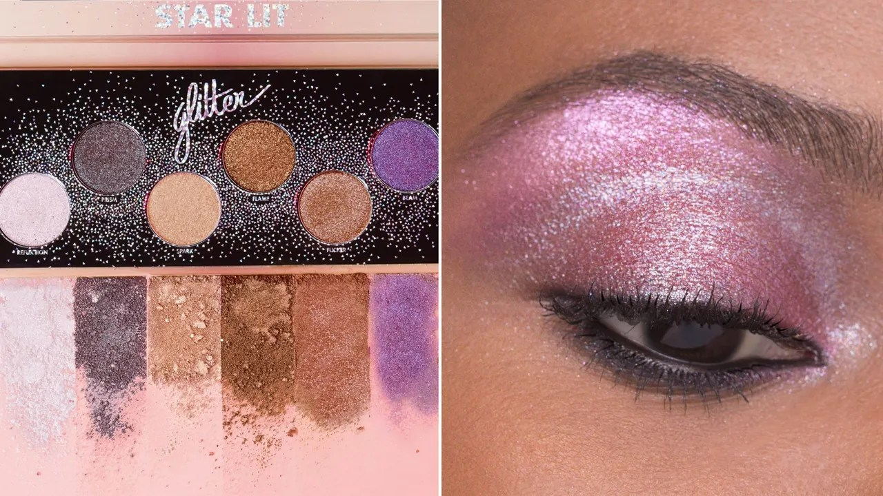 Lit En Palette Make Up For Ever S Star Lit Glitter Palette Is So Sparkly See