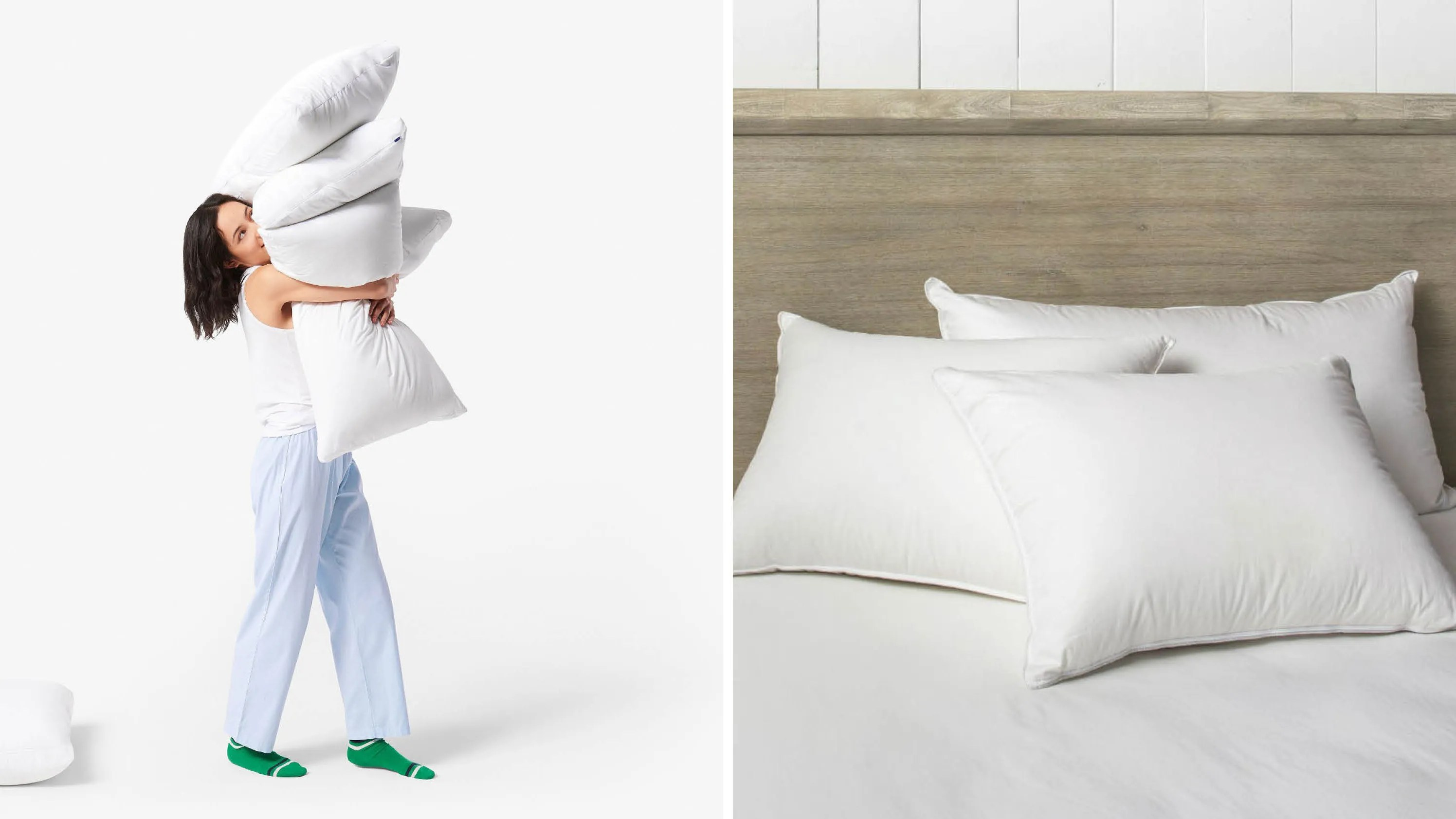 Best Firm Pillow For Side Sleepers The Best Bed Pillows Of 2018 To Buy Online Allure