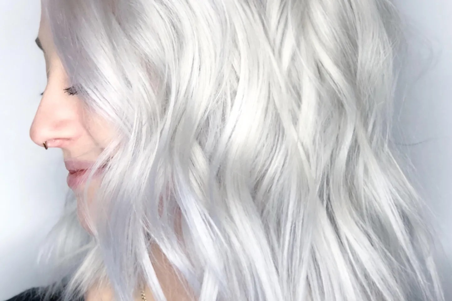 White Photo The Baby White Hair Color Trend Is So Light It S Almost