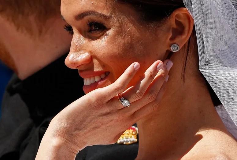 See Meghan Markles Royal Wedding Hair And Makeup With