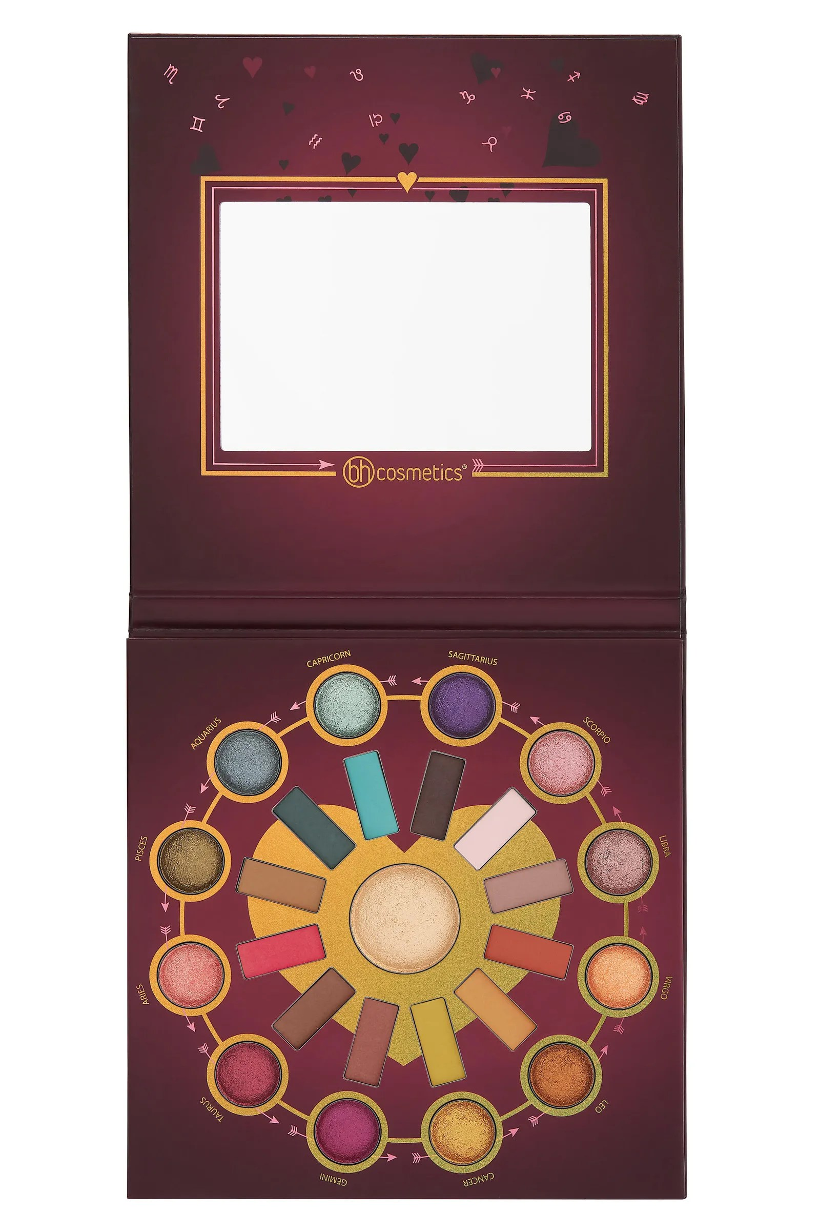 Paletten Bilder Bh Cosmetics To Launch Zodiac Love Signs Eye Shadow Palette Allure