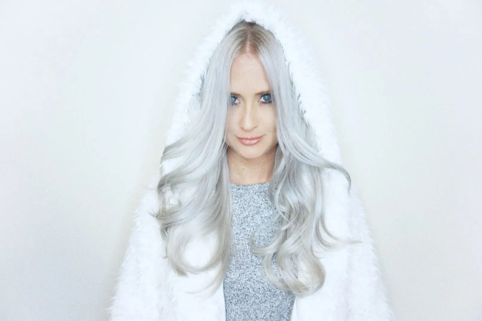 White Photo Snow Hair Is The Icy New Trend For Platinum Blondes Allure