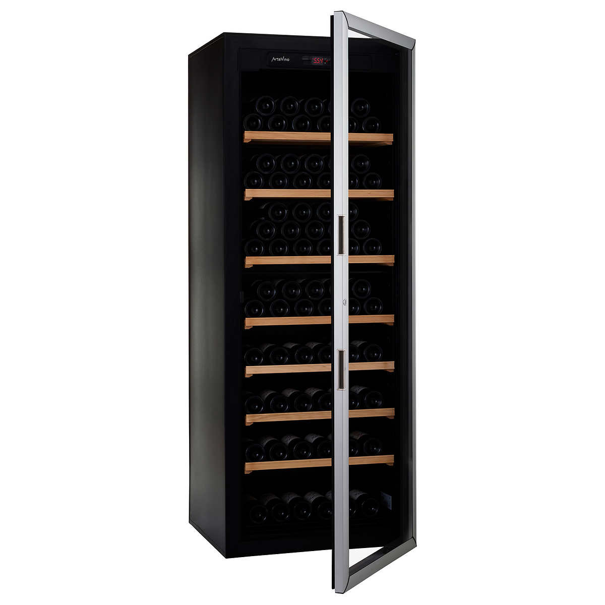 Artevino Wine Cellar Artevino Ii By Eurocave 200 Bottle Free Standing Single Zone Wine Cellar