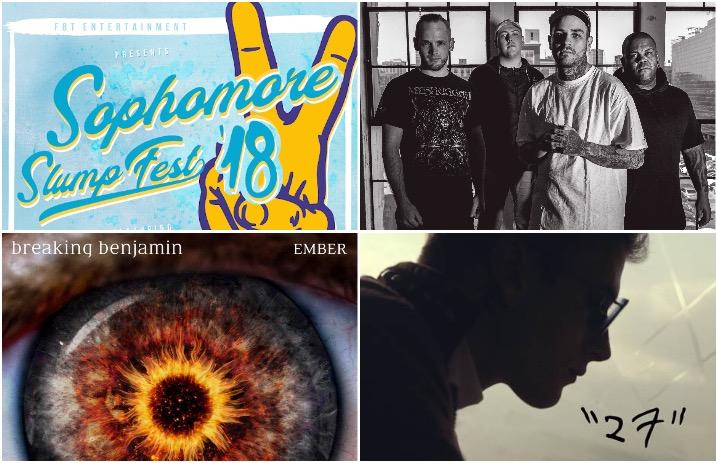 Breaking Benjamin\u0027s album debuts at No 3 on Billboard charts and
