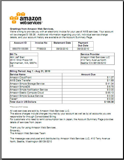 German Invoice Template For Excel Pdf And Word New Download Invoices From Your Aws Account Aws