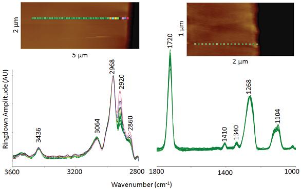 Depth Profiling Trimethylaluminum-Modified PET Fibers by Nanoscale
