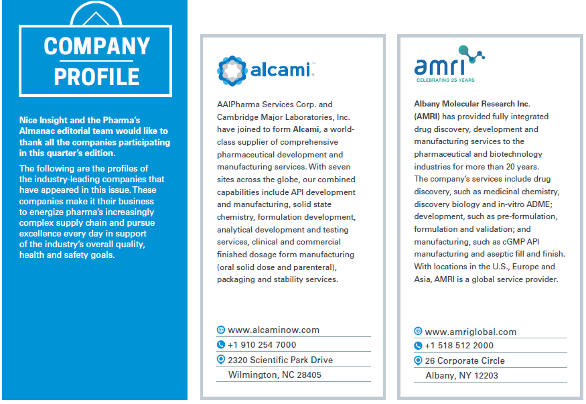 COMPANY PROFILE American Pharmaceutical Review - The Review of