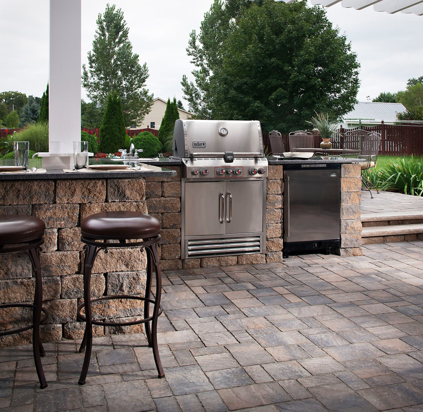 Outdoor Grill How To Maintain Your Outdoor Kitchen Angie S List