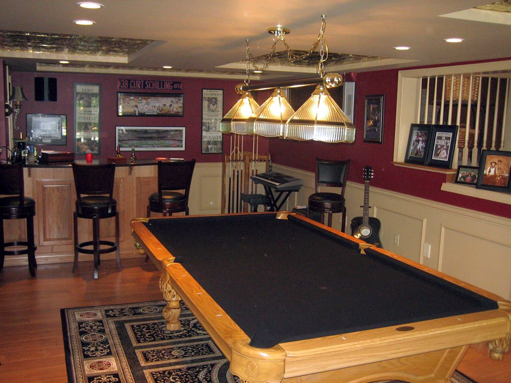 Finished basements are a large part of our business often featuring - Finished Basements Are A Large Part Of Our Business Often Featuring Basement With Wood Floor Download