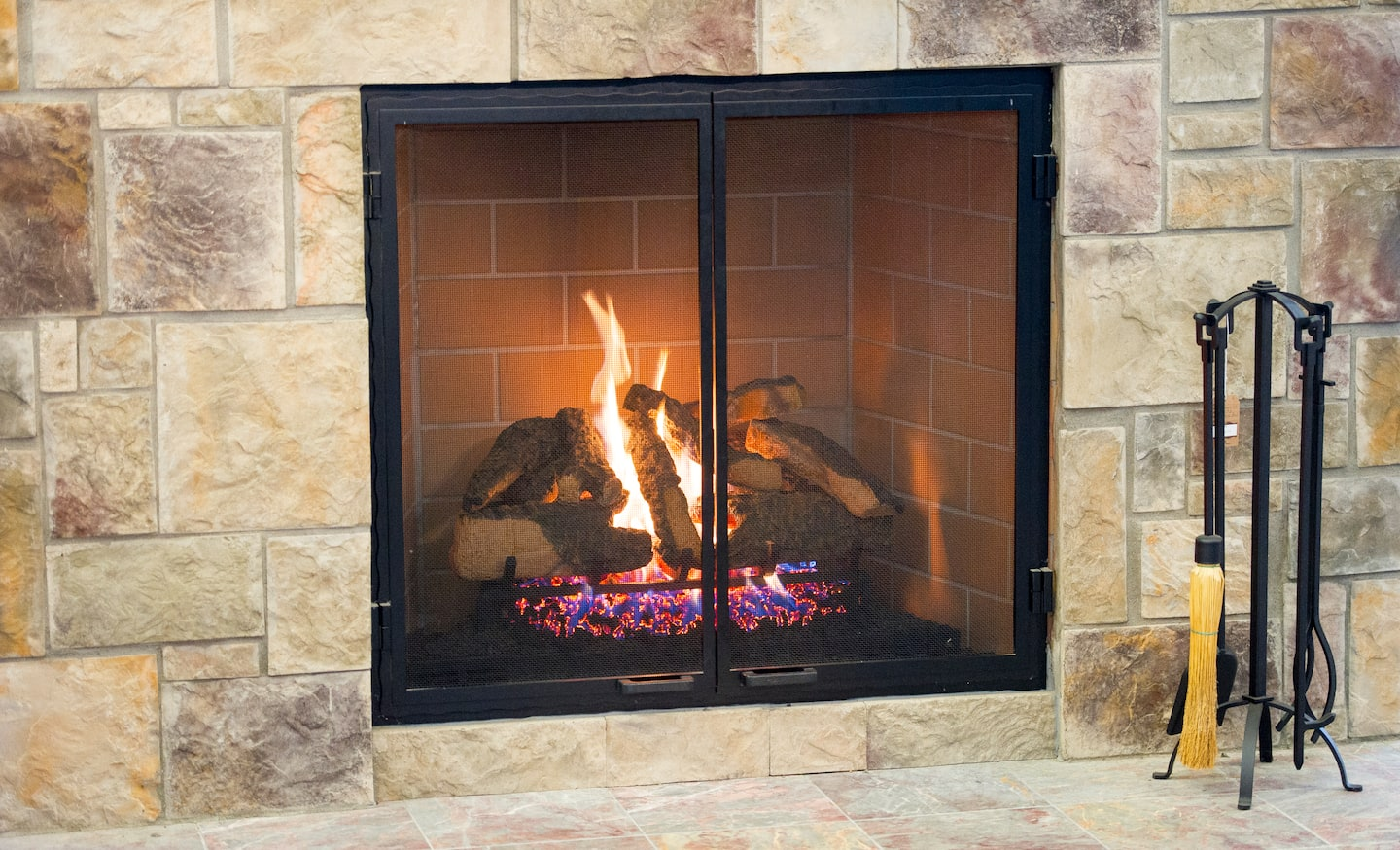 Gas Fireplace Tune Up Minneapolis Gas Fireplace Surround Ideas Angie S List