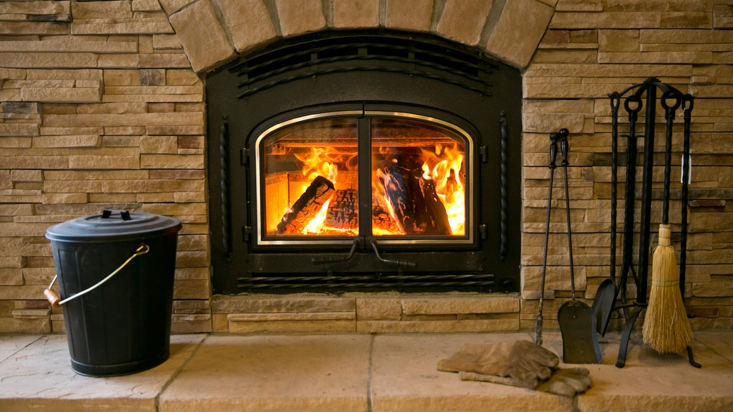 Wood Fireplace Heat Exchanger How To Convert A Gas Fireplace To Wood Burning Angie S List