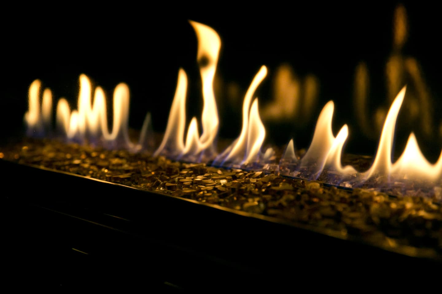 Gas Fireplace Starter Pipe Cost To Convert A Wood Fireplace To Gas Angie S List
