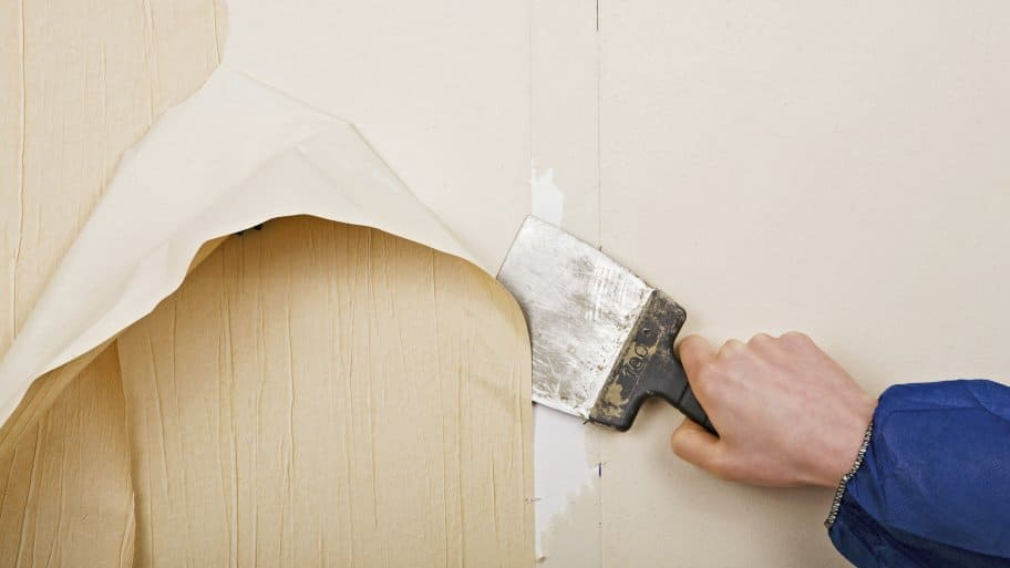 Bathroom Wallpaper Removal. yes you can how to remove wallpaper from unprimed drywall. pictures ...
