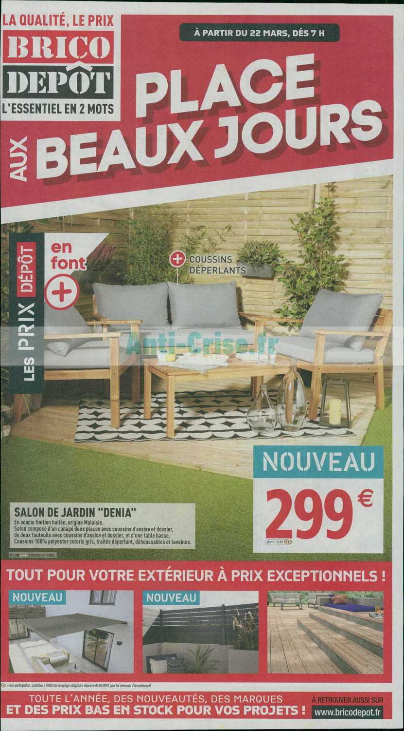 Brico Depot Lunel Catalogue Brico Dépôt Du 22 Mars Au 04 Avril 2019 Catalogues