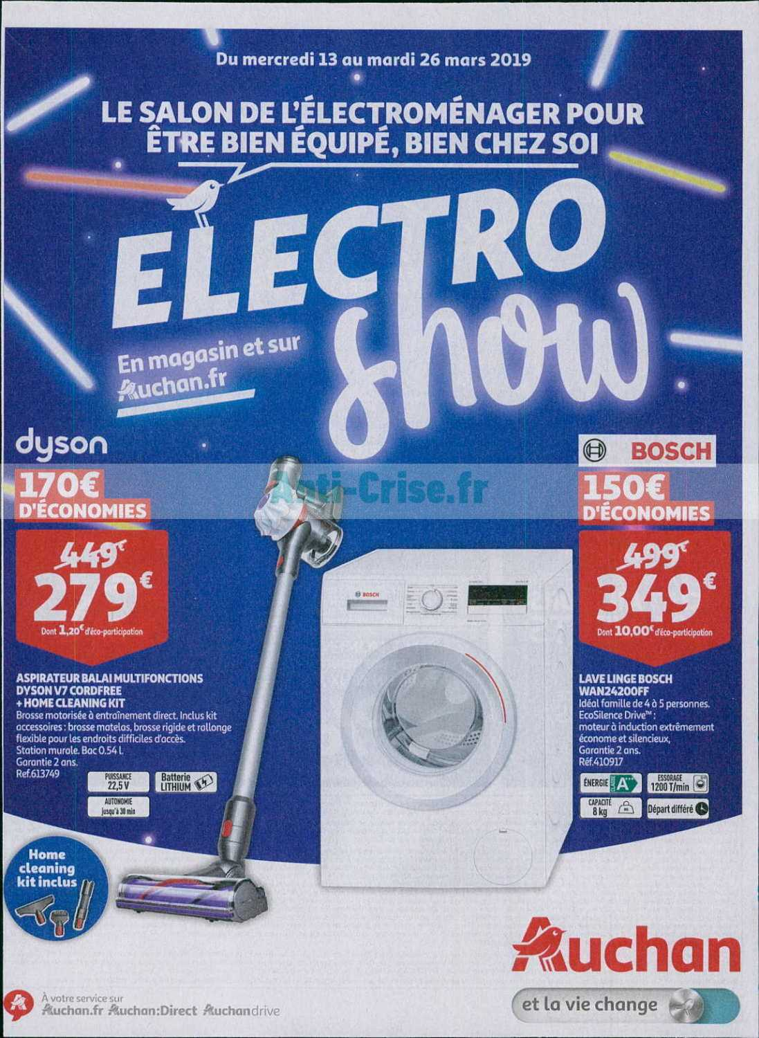 Catalogue Electromenager Catalogue Auchan Du 13 Au 26 Mars 2019 Electroménager
