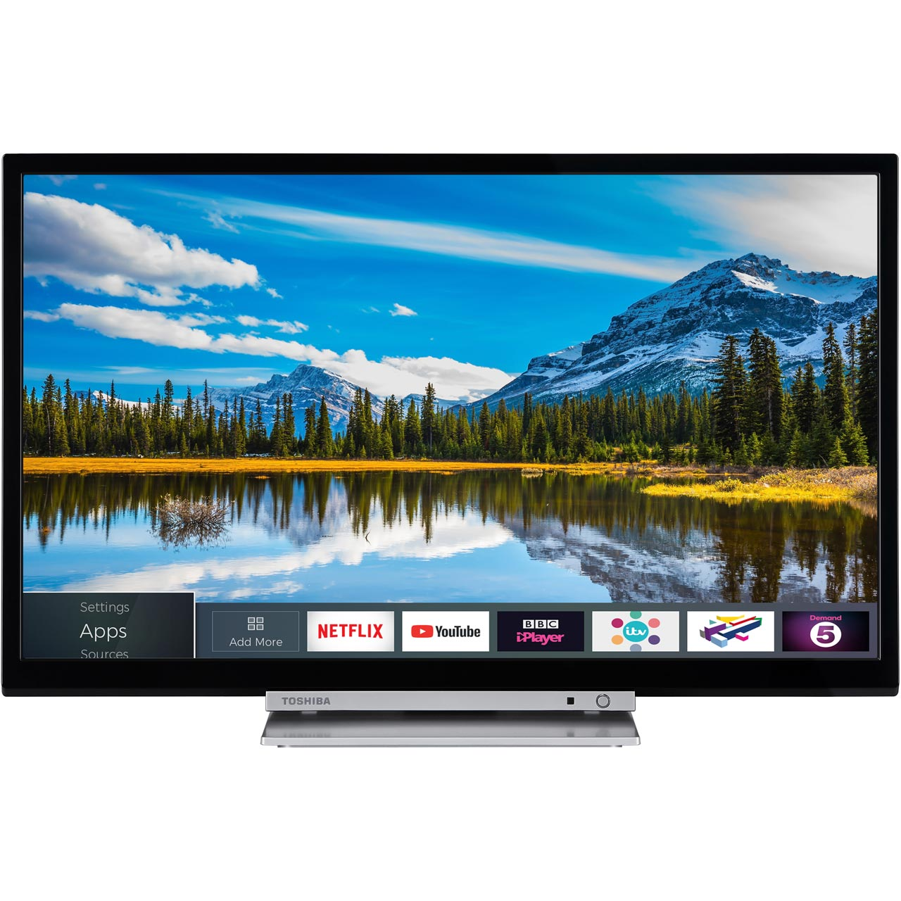 24 Im Tv Toshiba 24d3863db 24 Inch Smart Led Tv 720p Hd Ready Tv