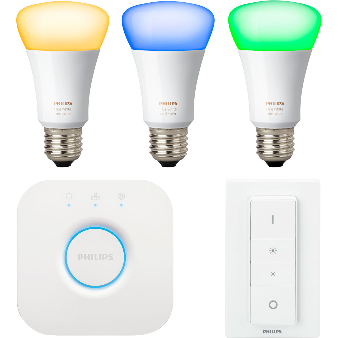 Hue Fitting Philips Hue White And Colour Ambiance E27 Starter A Rated