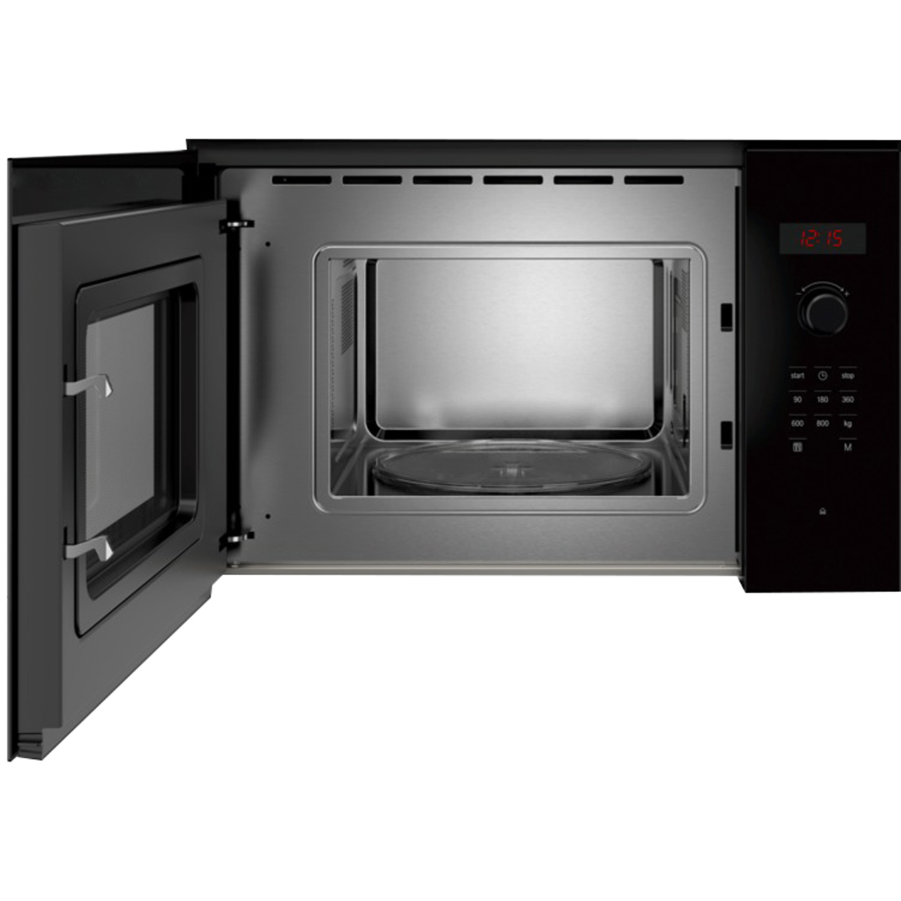 Bosch Microwave Bosch Serie 4 Bfl523mb0b Built In Microwave Black