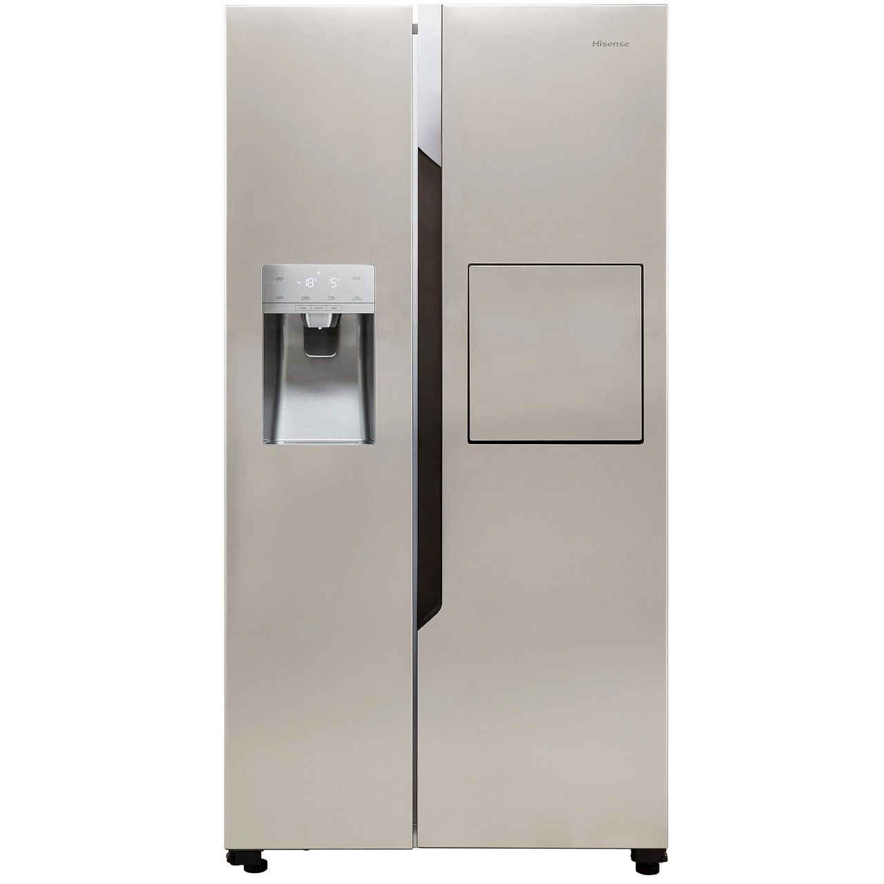 Fridge Freezer Hisense Rs694n4bc1 American Fridge Freezer Stainless Steel A Rated