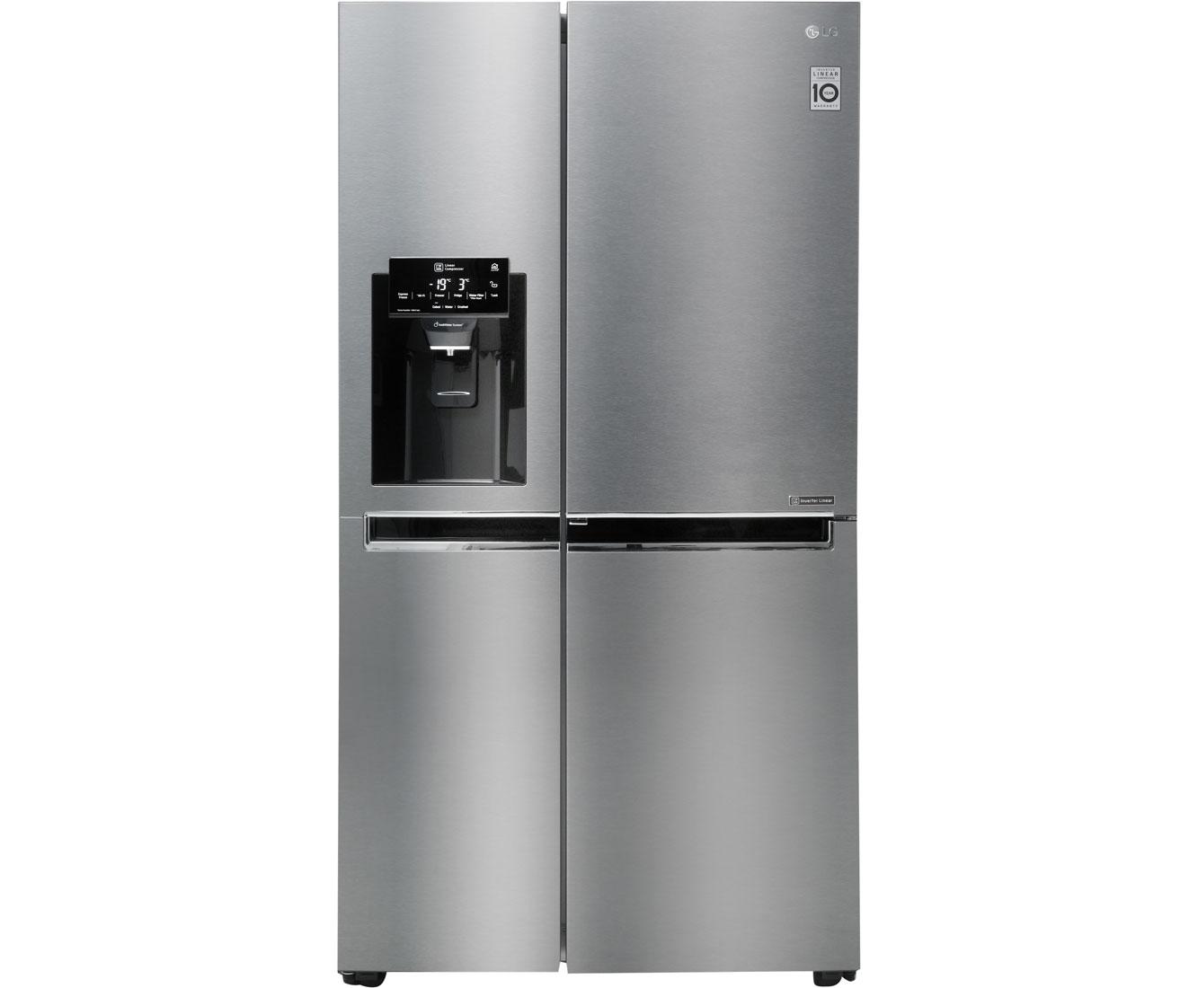 Side By Side Kühlschrank Test : Lg kühlschrank side by side ohne festwasseranschluss lg
