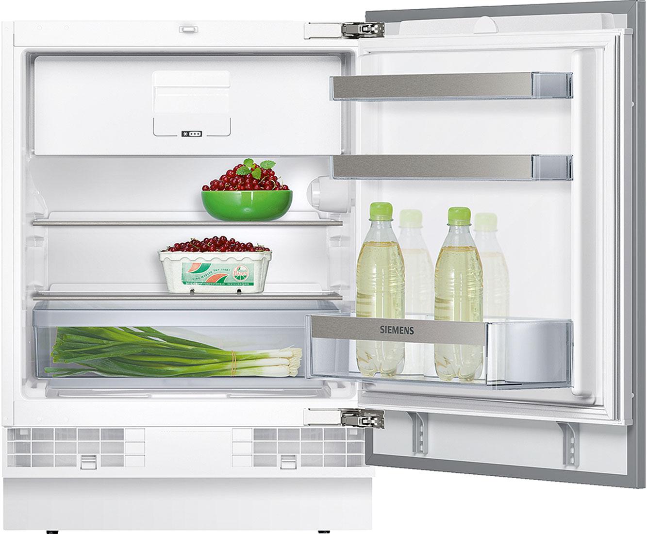 Siemens Iq500 Ku15lsx60 Unterbau Kühlschrank Mit Gefrierfach 82er Nische  Festtür Technik A