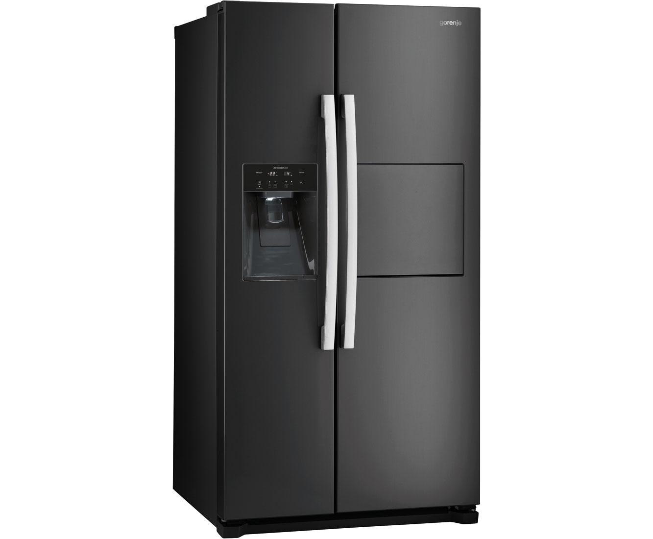 Gorenje Kühlschrank Preisvergleich : Side by side kühlschrank kaufen gorenje nrs9182bx preisvergleich