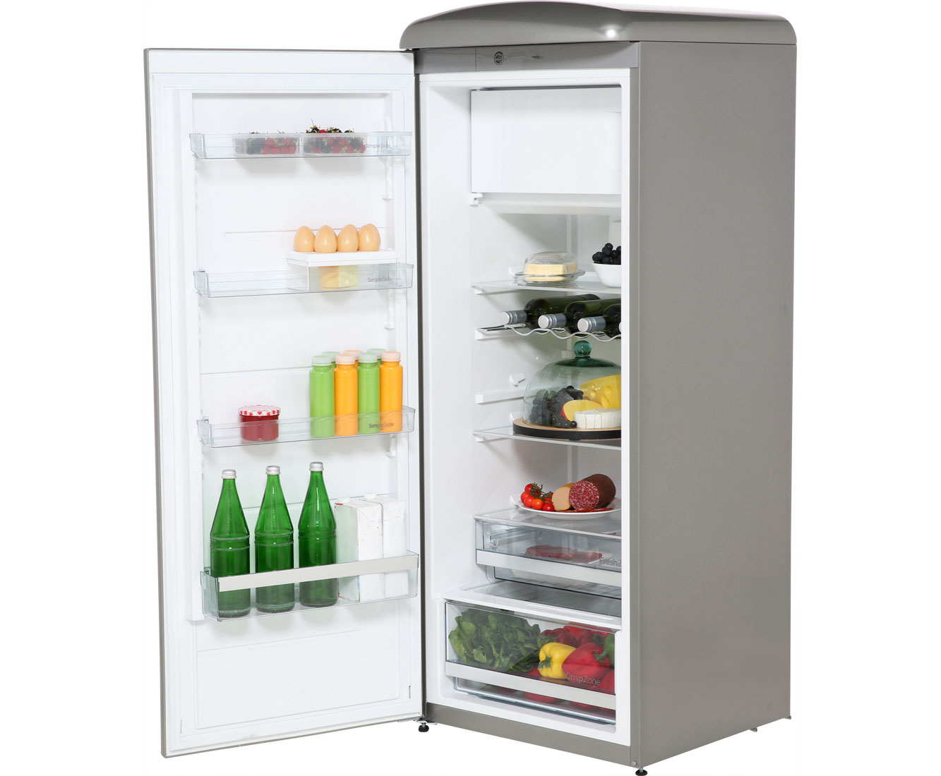 Gorenje Kühlschrank Creme Retro : Kühlschrank freistehend retro retro minikühlschrank 95l rot 2türig