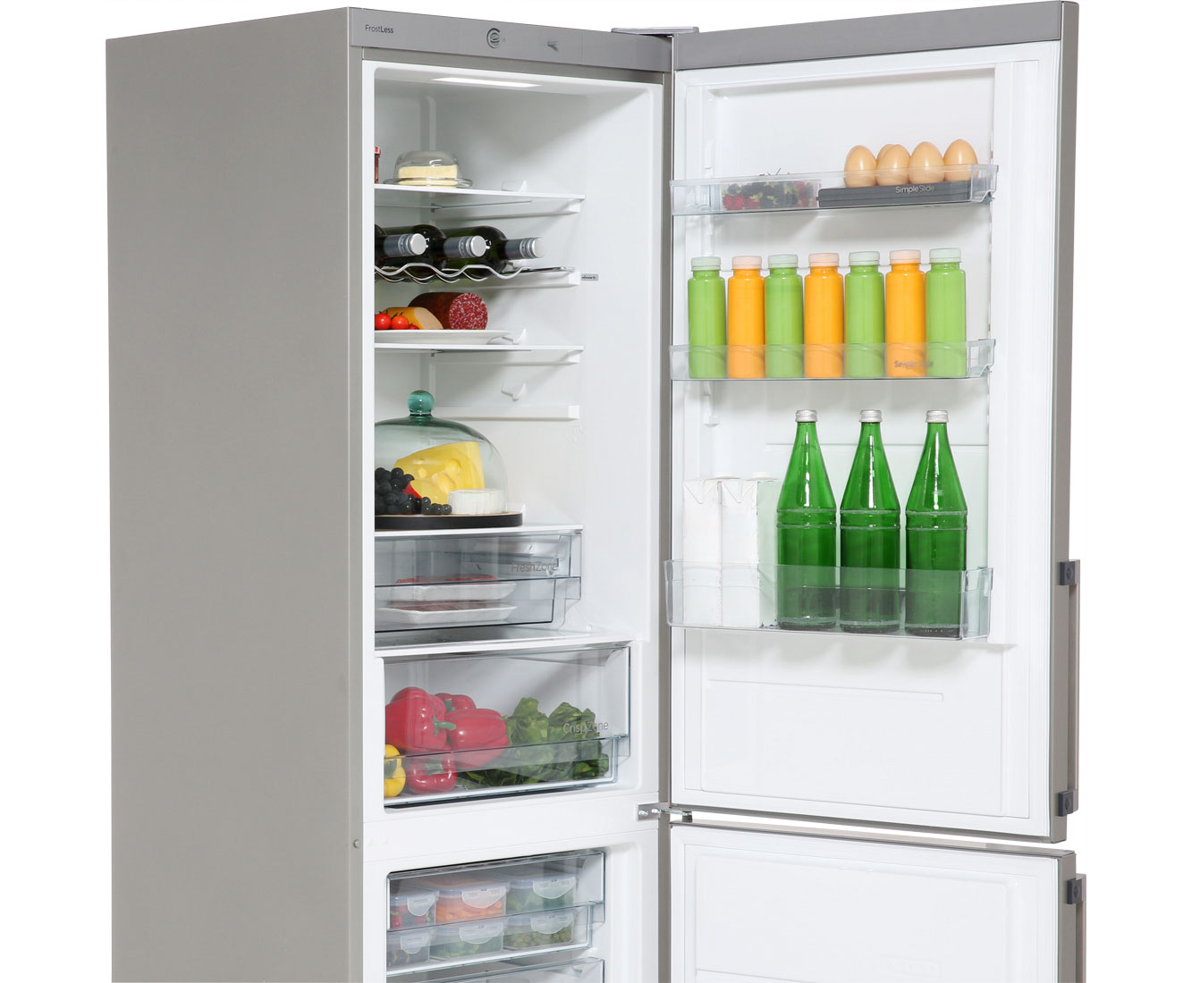 Gorenje Kühlschrank Edelstahl : Gorenje kühlschrank gefrierkombination einbau wasserspender