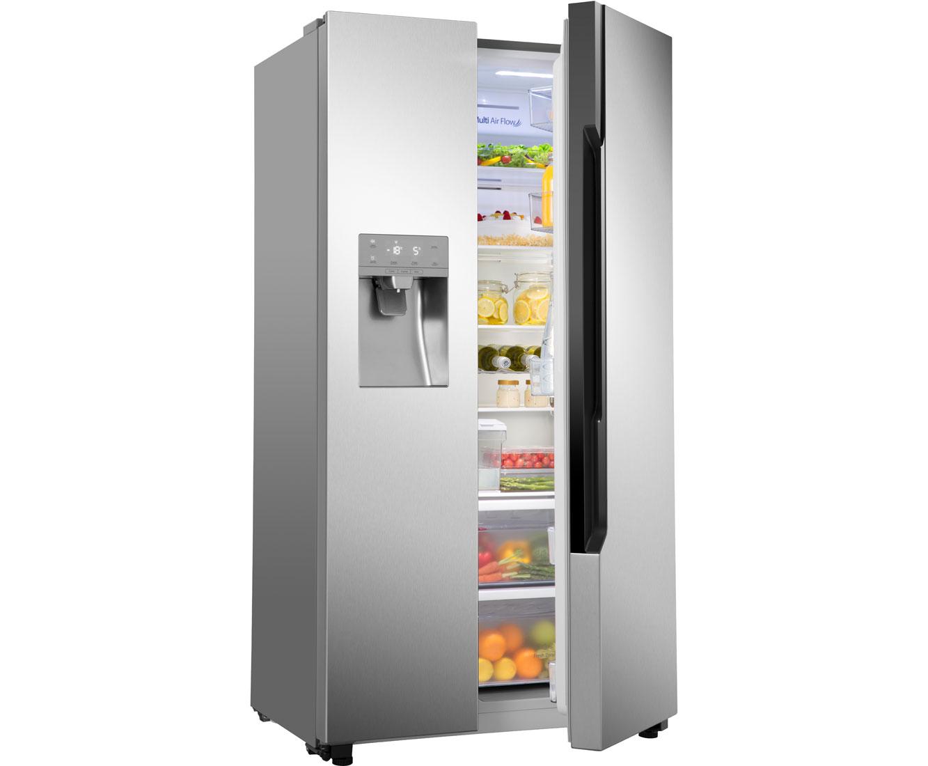 Amerikanischer Kühlschrank Bilder : Amerikanischer kühlschrank mit eiswürfelspender gorenje retro