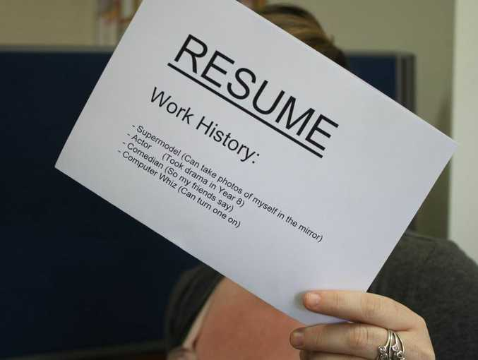 The one font you should never, ever use on your CV Northern Star