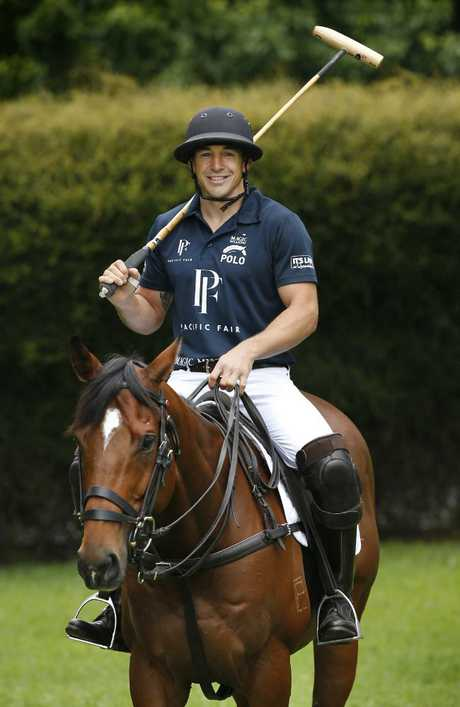 Billy Slater will make his polo debut next year. Picture: David Caird