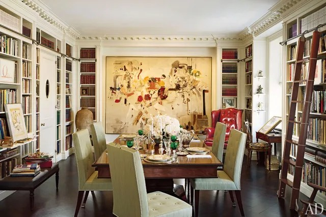 Home Library Bookshelf Design Photos Architectural Digest - home library design