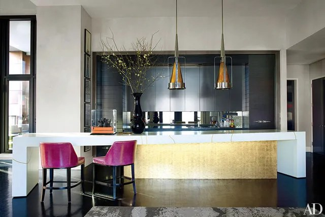 35 Sleek and Inspiring Contemporary Kitchens Photos - contemporary kitchen design