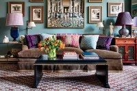 20 Top Designers Show Us Their Living Rooms Photos ...