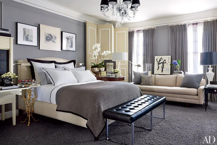 Gray Bedroom Ideas That Are Anything but Dull Photos - grey bedroom ideas