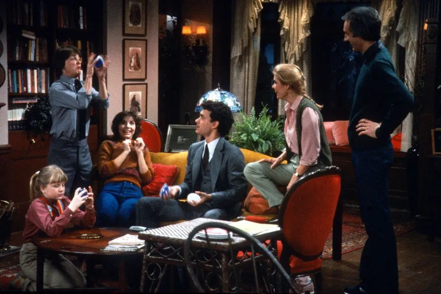The Set Design of Family Ties Photos