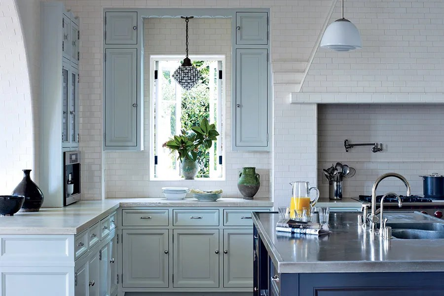 Painted Kitchen Cabinet Ideas Photos Architectural Digest