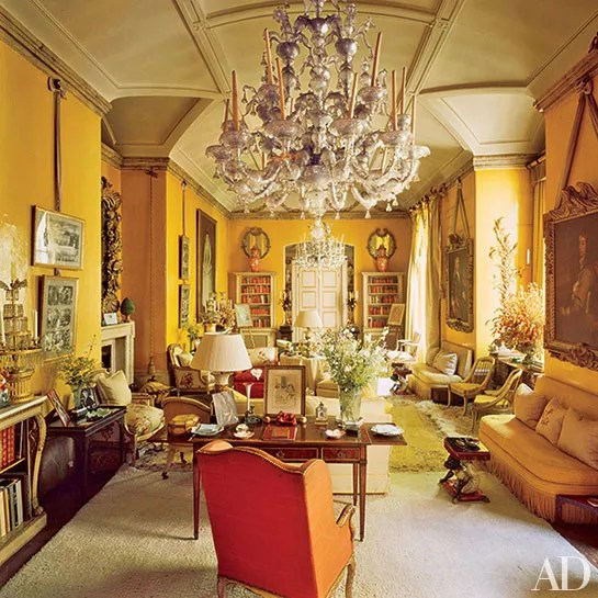 Villa Design The Aesthete: Living Rooms | Architectural Digest