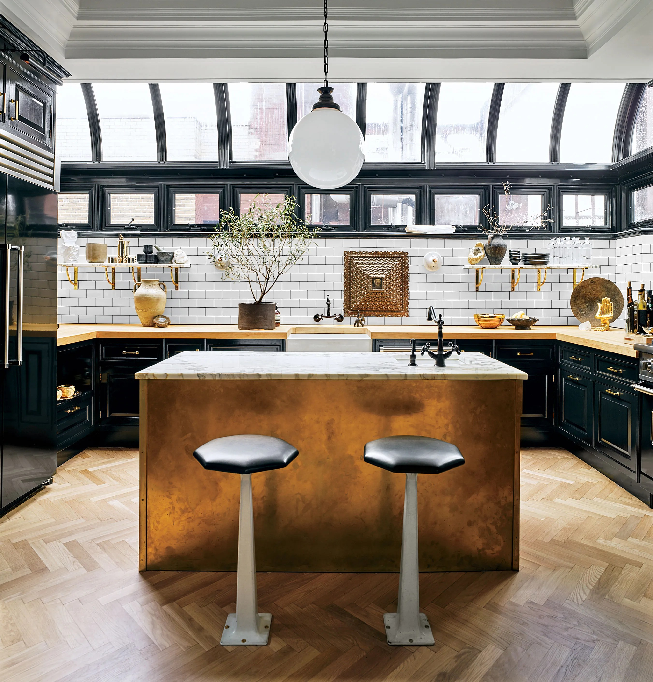 Black Design For Kitchen These 20 Black Kitchens Make A Stylish Impact Architectural Digest