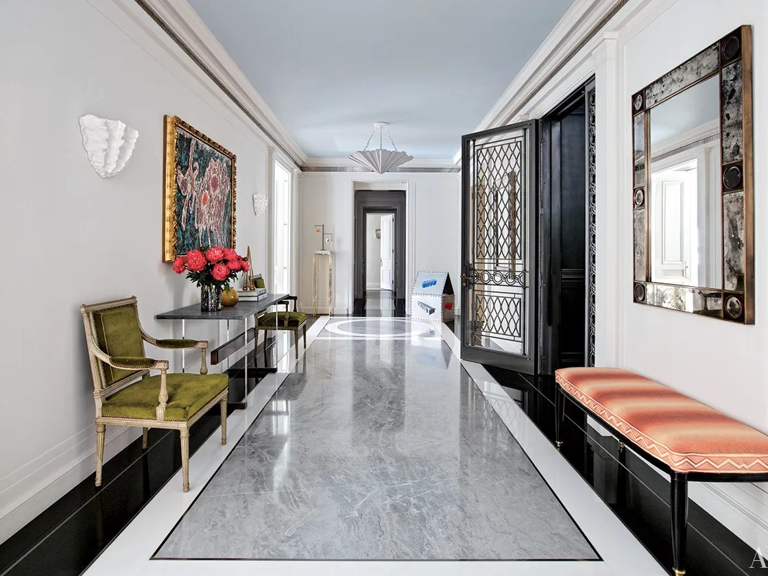 Black And White Marble Floors Marble Flooring Renovation Ideas Architectural Digest