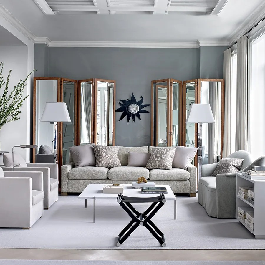 Grey Living Room Inspiring Gray Living Room Ideas Architectural Digest